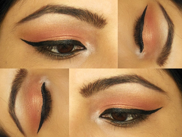 Rose Gold Eye Makeup eotd
