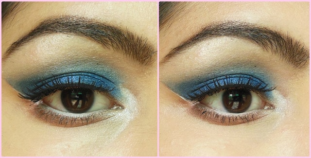 Royal Blue Eyes EOTD