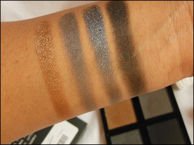 Sedona Lace The Babe Collection Eye Shadow Palette Adrienne Swatch 1