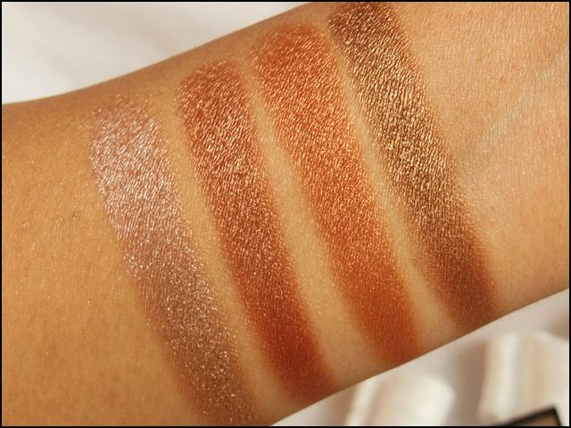 Sedona Lace The Babe Collection Eye Shadow Palette Suzzane Swatches