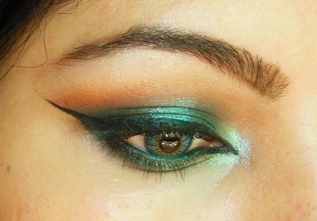 Shimmery Blue Eyes EOTD