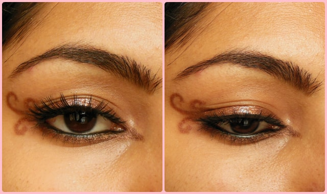 Swirly Winged Eye Liner