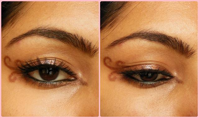 Swirly Winged Eye Liner