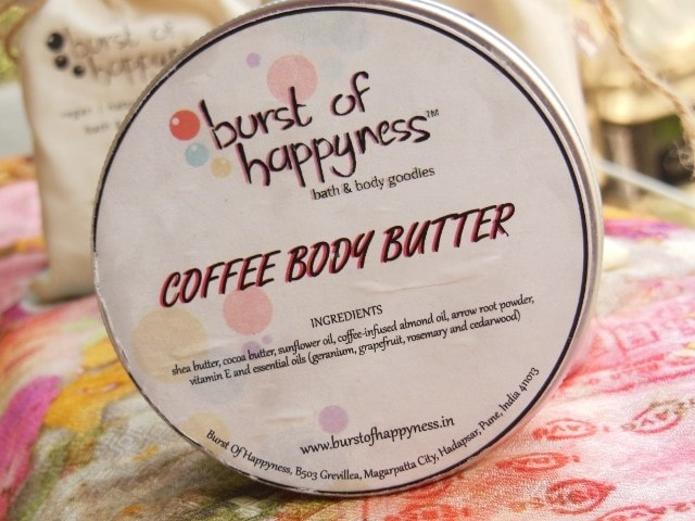 Burst Of Happiness Coffee Body Butter