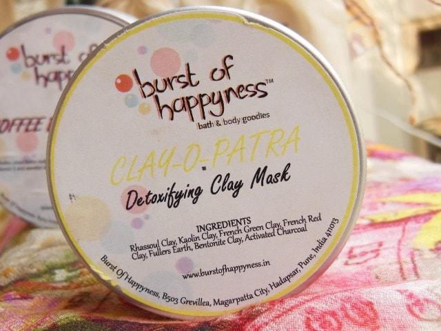 Burst Of Happiness Detoxifying Clay Mask Clay-O-Patra