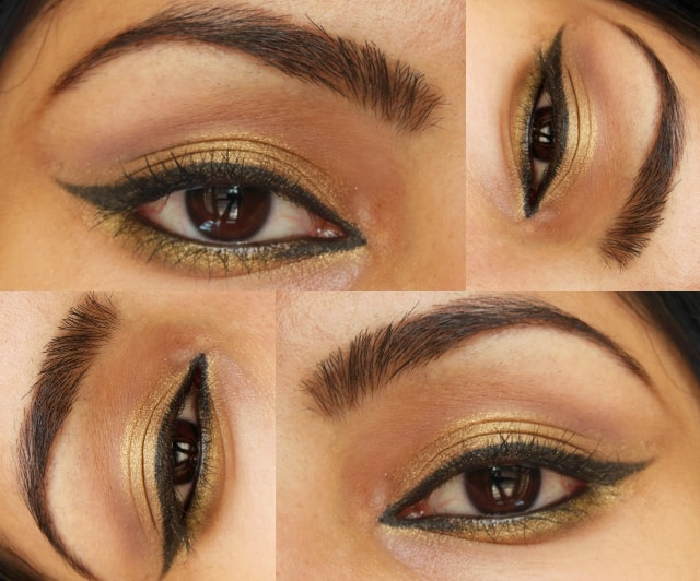 Easy Golden Eyes EOTD