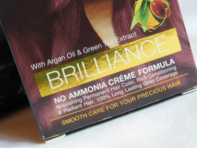 Enega Brilliance Creme Color Claims