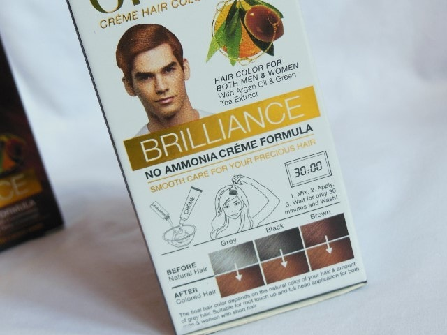 Enega Brilliance Creme Color Directions