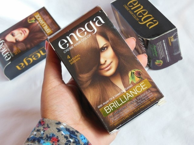 Enega Brilliance Creme Color Packaging