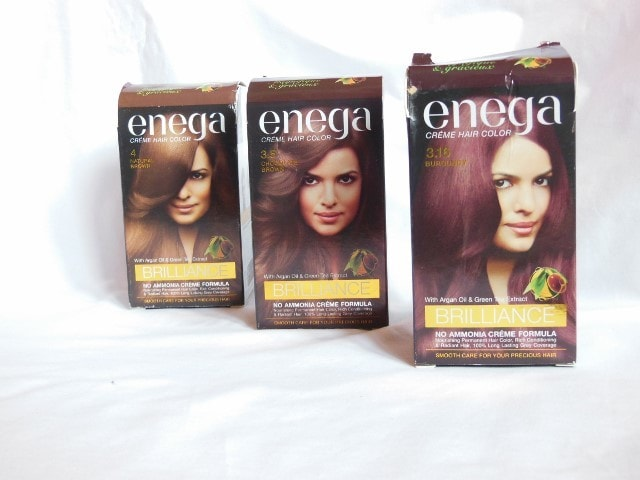 Enega Brilliance Creme Colors
