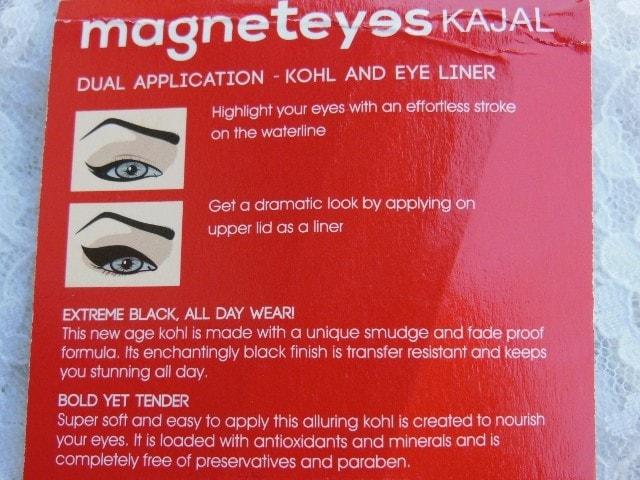 Faces Magneteyes kajal Application