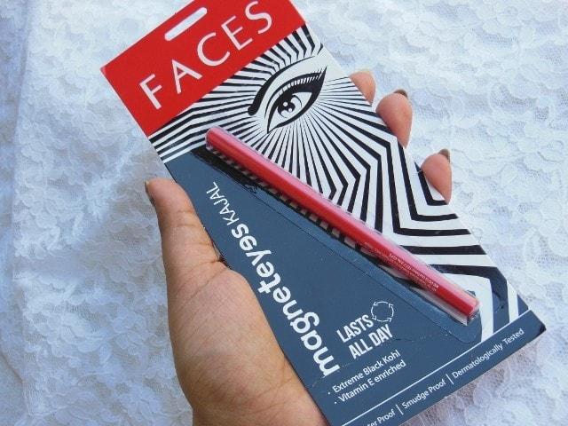 Faces Magneteyes kajal Packaging