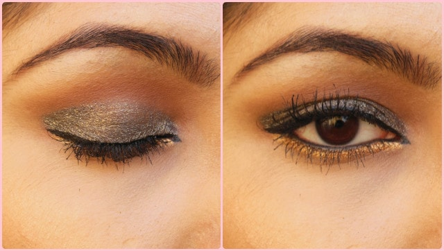 Faces Ultime Pro Eye Shadow Crayon Night Fever and Dancing Queen EOTD