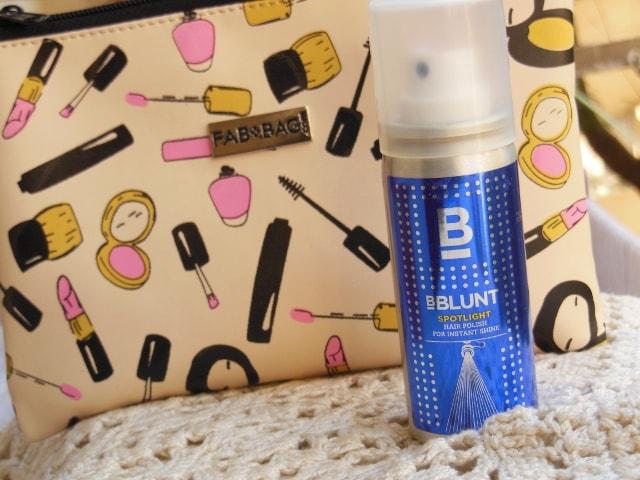 January Fab Bag 2016 - BBlunt Spotlight Hair Polish