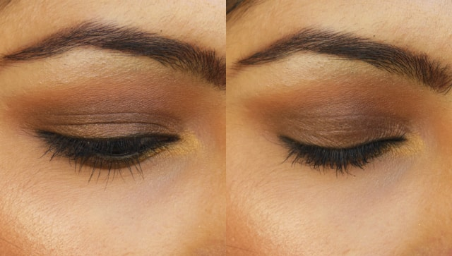 Luxie Beauty Dark Brown Eye Shadow 302, 104 EOTD