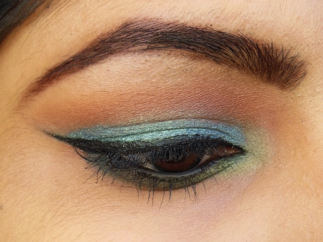 Makeup Geek  Mermaid and Appletini EOTD 1