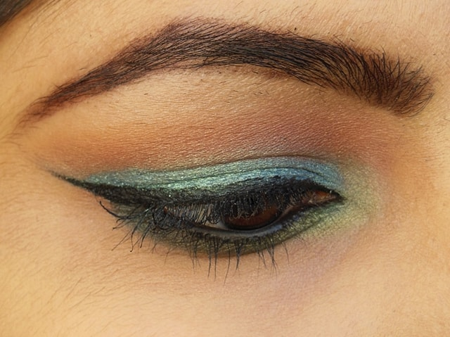 Makeup Geek  Mermaid and Appletini EOTD 2