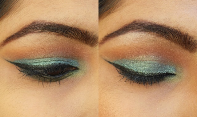 Makeup Geek  Mermaid and Appletini EOTD