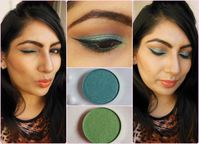 Makeup Geek  Mermaid and Appletini FOTD
