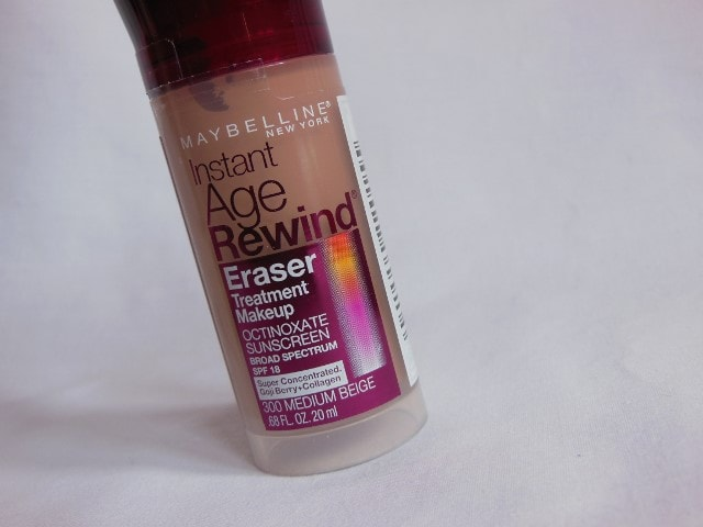 Maybelline Instant Age Rewind Concealer Claims