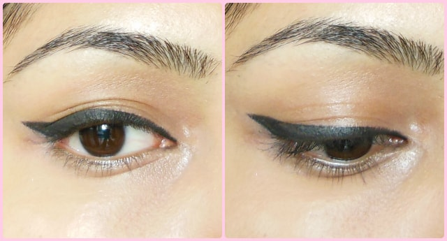 Thick Winged Liner Eyes