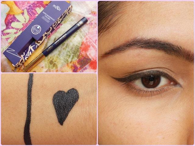BornPrettyStore Makeup- Mixiu waterproof eyeliner Look
