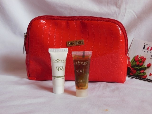 February Fab Bag- Ayorma Spa Fairness Face wash and Face Scrub