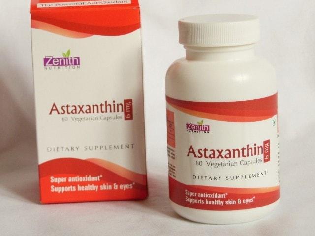 Zenith Nutrition Astaxanthin Capsules
