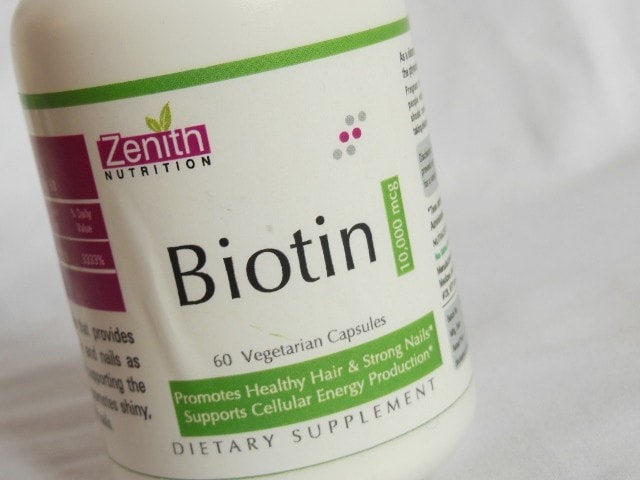 Zenith Nutrition Biotin Capsules 10000mcg
