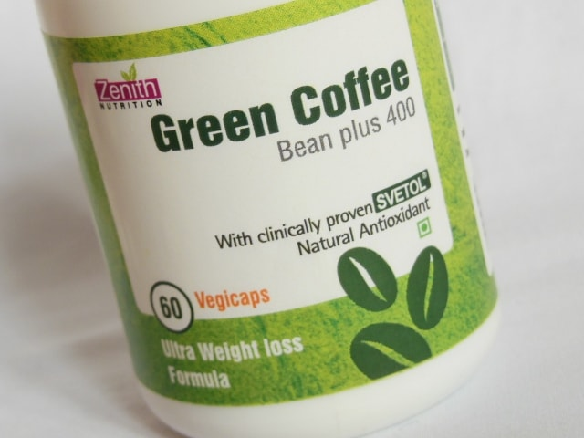 Zenith Nutrition Green Coffee Bean Plus 400gm