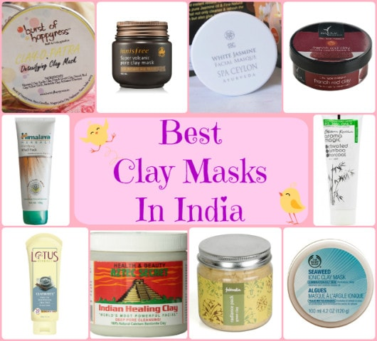 Best Clay Masks in India