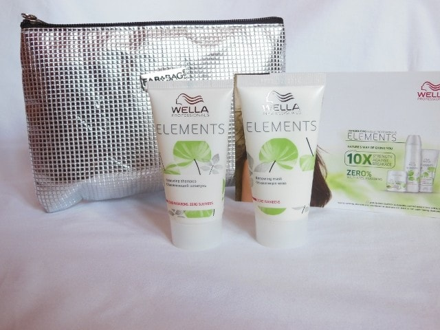 March Fab Bag - Wella Elements Shampoo and Mask