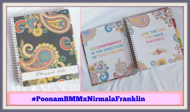 Nirmala Franklin Everyday Planner Giveaway