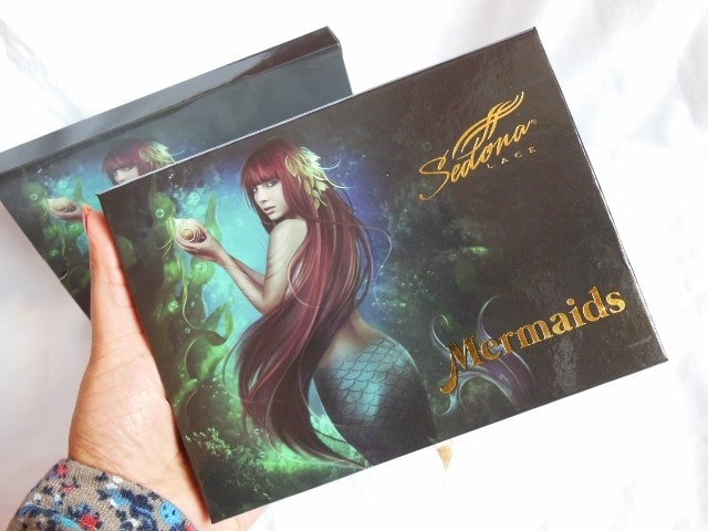 Sedona Lace Mermaids Eye Shadow Palette Packaging