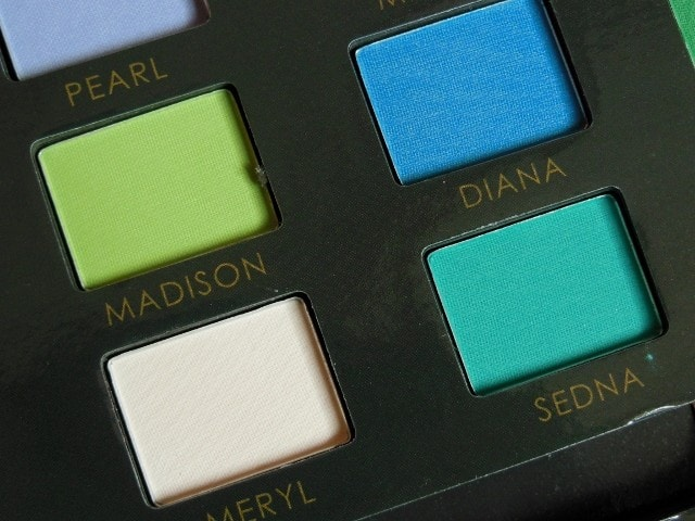 Sedona Lace Mermaids Eye Shadow Palette Shades 2