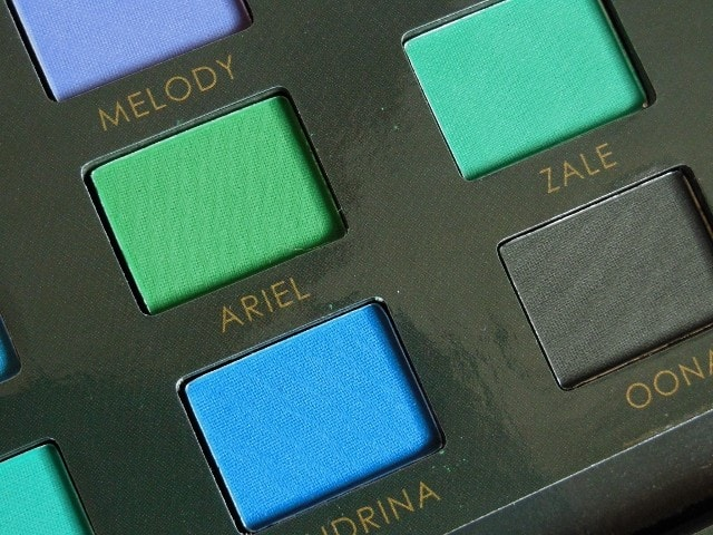 Sedona Lace Mermaids Eye Shadow Palette Shades 4