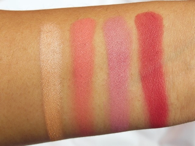 Sedona Lace Mermaids Eye Shadow Palette Swatch Row 1