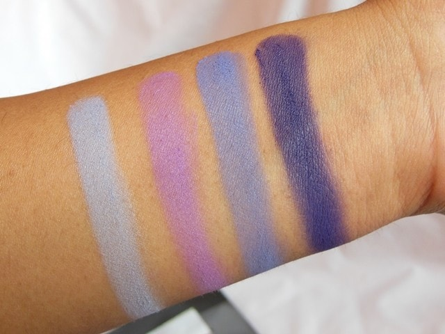 Sedona Lace Mermaids Eye Shadow Palette Swatch Row 2
