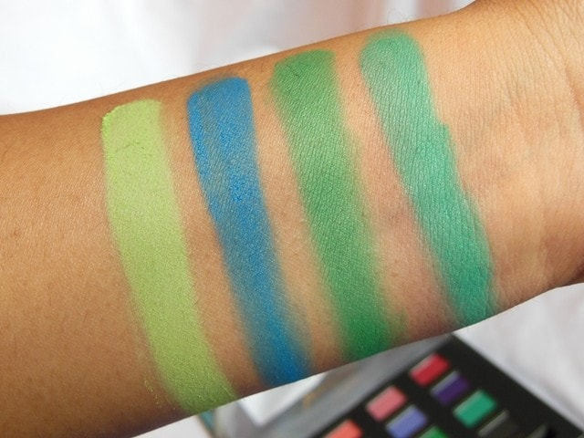 Sedona Lace Mermaids Eye Shadow Palette Swatch Row 3