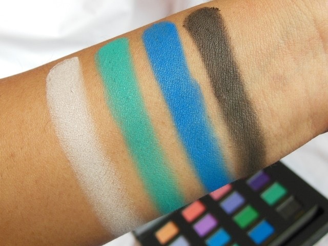 Sedona Lace Mermaids Eye Shadow Palette Swatch Row 4