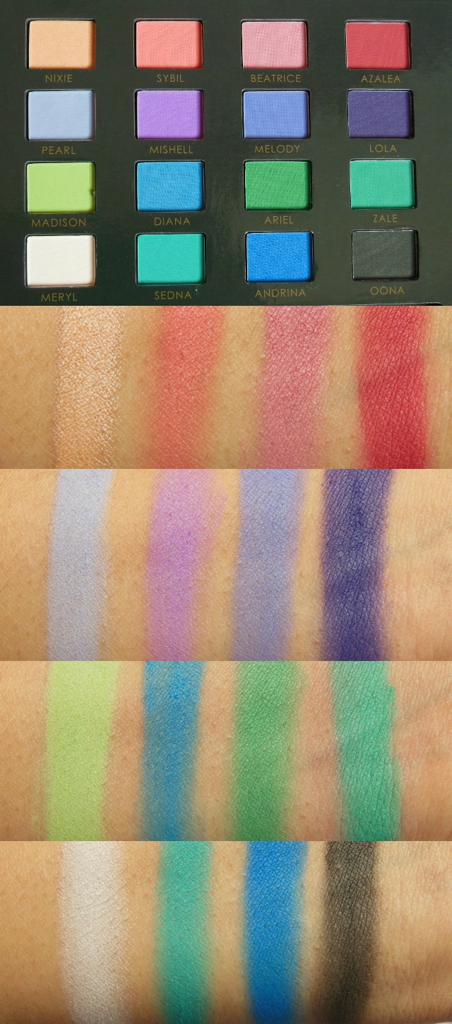 Sedona Lace Mermaids Palette Swatches