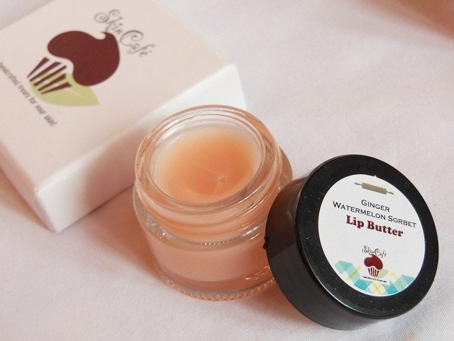 SkinCafe Ginger Watermelon Sorbet Lip Butter