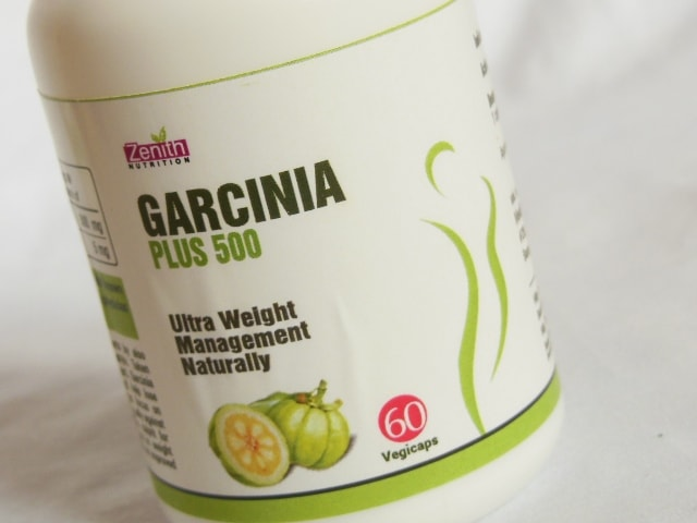 Zenith Nutrition Garcinia Plus 500 Capsules Review