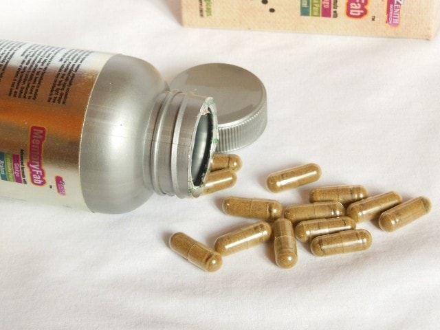 Zenith Nutrition Memory Fab Capsules Packaging