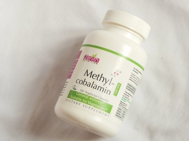 Zenith Nutrition Methylcobalamin Capsules Review