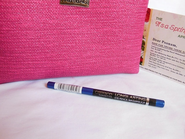 April Fab Bag 2016 - Catrice Long Lasting Eye Pencil Rendez-Blue