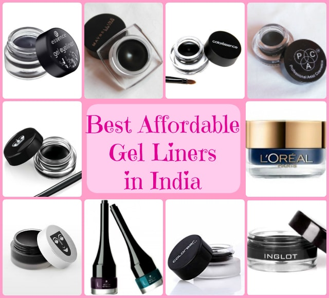 Best Affordable Gel Eye Liners In India