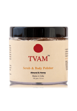 TVAM face and Body scrub Almond and Honey