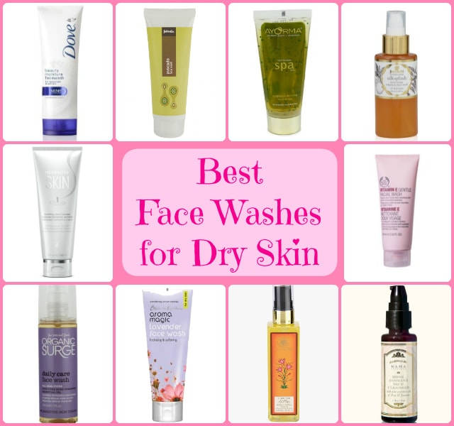 Best Face Washes for Dry Skin