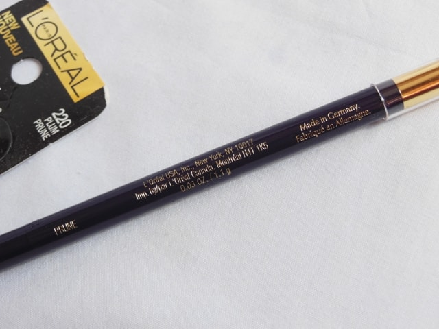 L'Oreal Paris Infallible Silkissime Eye Liner Made in Germany